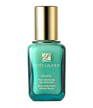 Estee Lauder Idealist Pore Minimizing Skin Refinisher serum... you can seriously feel your pores shrink!!