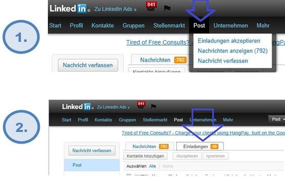 Pishing Mails LinkedIn - take care!