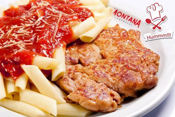 Oba, hoje a pedida do dia é esse prato delícia da Montana Grill. Hmmm!!!!