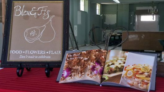 Client Bleu & Fig using their photos for promotion in photo book form AND for a local news piece.