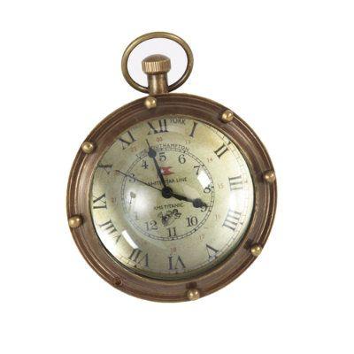 Porthole Clock, $49