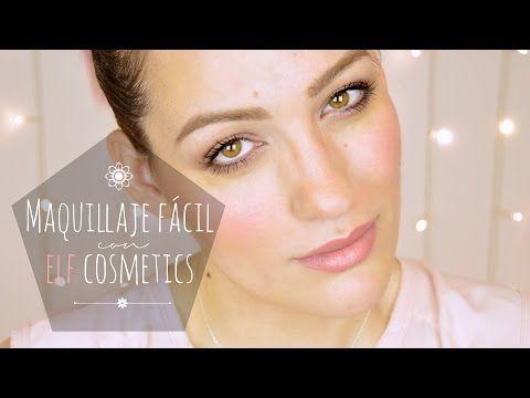 Tutorial maquillaje muy fácil con productos ELF cosmetics - YouTube