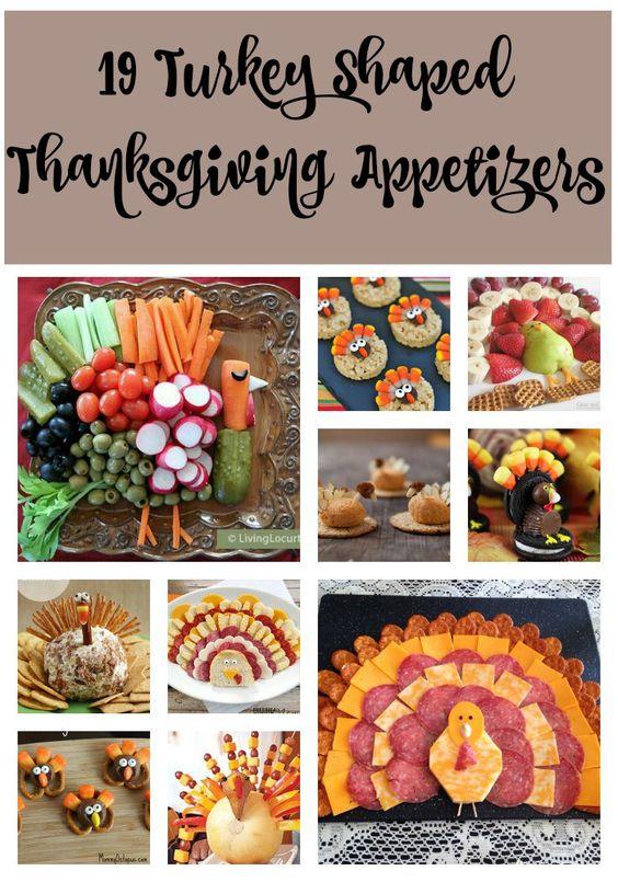 19 Thanksgiving Appetizer Ideas That Look Like Turkeys