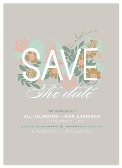Save the Date by Moglea