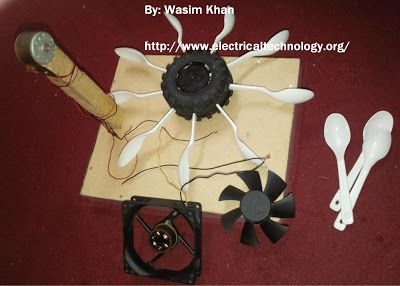 Simple Project on Hydro Electric Power Station with Turbine. (Modal) - Electrical Technology