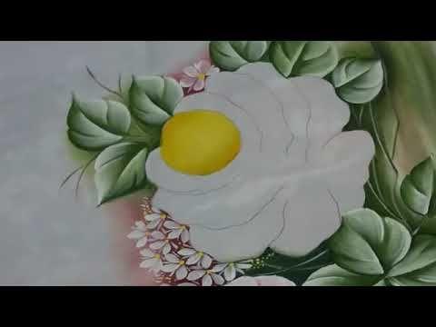 Ensinando A Pintar Rosas Parte 2 Youtube Flores Pintura