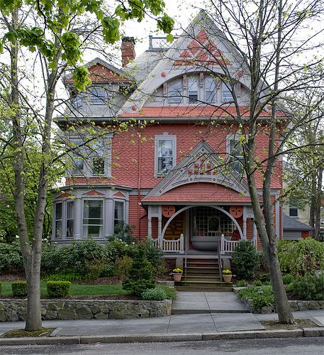 So cute islands and victorian on pinterest for Rhode island home builders
