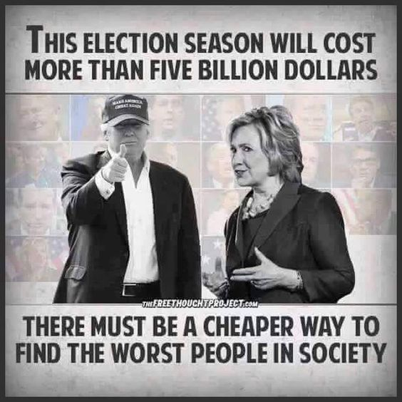 Criminal behavior begets wealth, which begets power, which begets a Presidential Candidate.