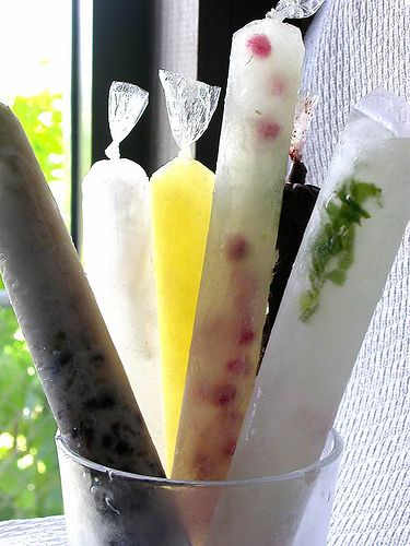 alcoholic ice-pops, perfect for a day on the beach/boat