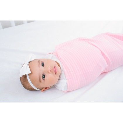 Pink Ollie Swaddle