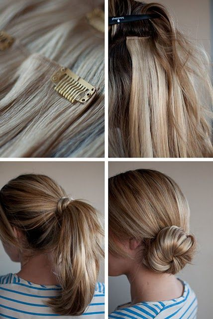 Easy hair extensions