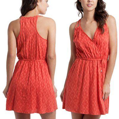 Rip Curl Dalia Juniors Dress - Orange.com