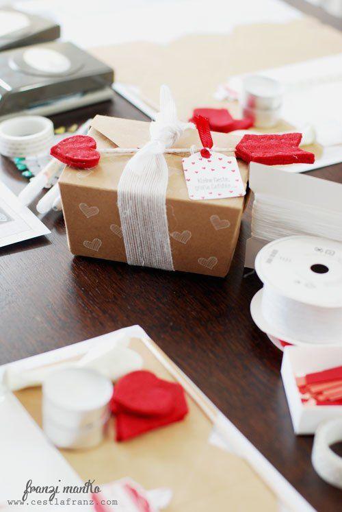 Sweet gift packaging by Franzi Manko