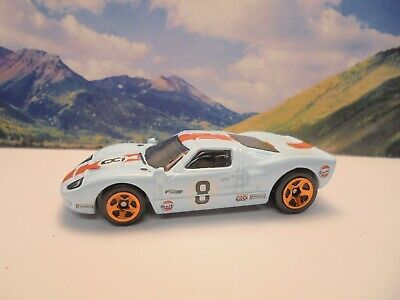 Ad Ford Gt 40 2020 Hot Wheels Race Day Series Baby Blue Hot