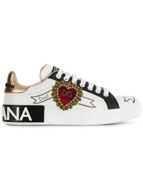 \u0026 Gabbana Portofino Sneakers - Farfetch