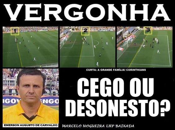 Os prejuízos da arbitragem ao Sport Club Corinthians Paulista