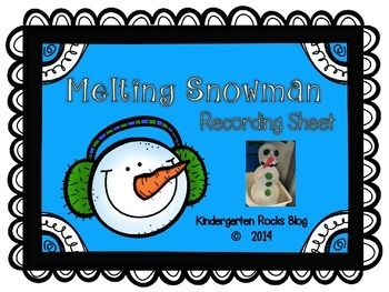 This science activity will truly melt your students' hearts.    What you will need: 	Balloons 	Water 	Bowls & plates 	Felt or tissue for snowman pieces 	Large pan for the snowman to melt in 	This FREEBIE worksheet to record students work!  Your students will be SNOW excited to share their activity with their families!