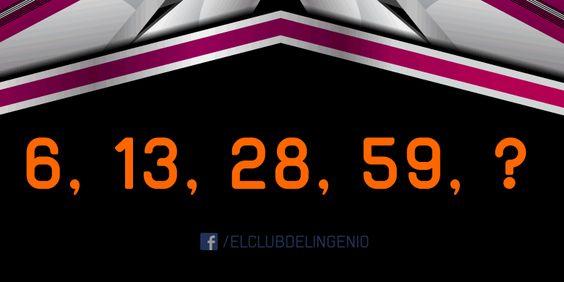 Una serie de números para completar. Comparte con tus amigos este juego de lógica. #gimnasiamental