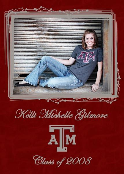 Texas AM Graduation Invitation DIY ideas – Order Graduation Invitations
