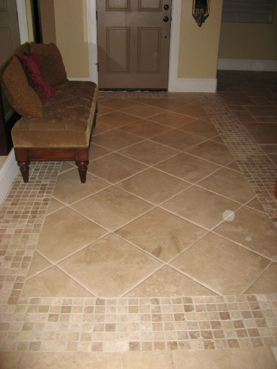 Travertine Floor Pattern For The Home Pinterest