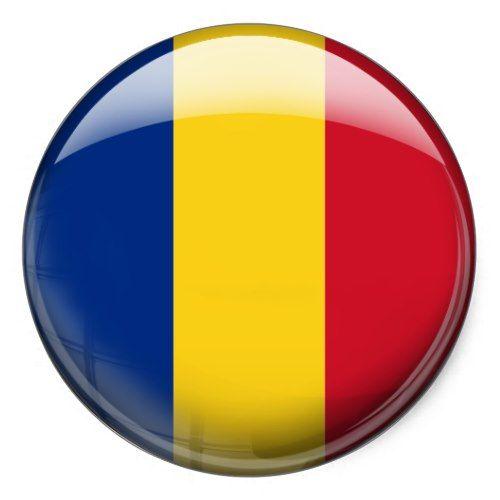 Romania Flag Classic Round Sticker Zazzle Com In 2020 Romania Flag Round Stickers Flag