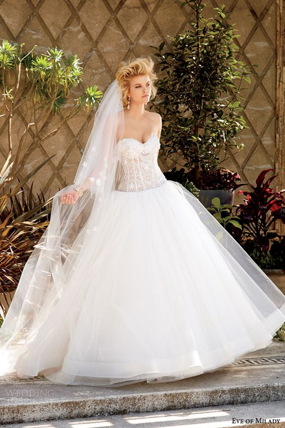 the dreamiest, most enchanting wedding dresses
