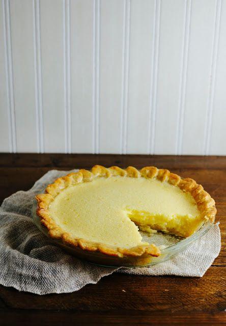 Lemon chess pie, Chess pie and Chess on Pinterest
