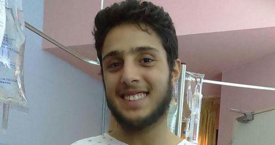 Kann nach der Operation schon wieder strahlen: Flüchtling Sakhr Al-Khalil, dem heimische Spenden das Leben retteten.