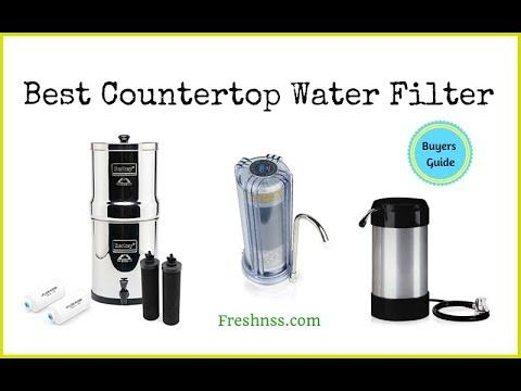 Reviews Of The 9 Best Countertop Water Filter Plus The Worst 1 To