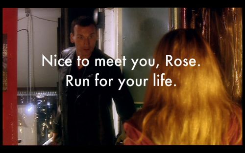Nice to meet you, Rose. Run for your life!