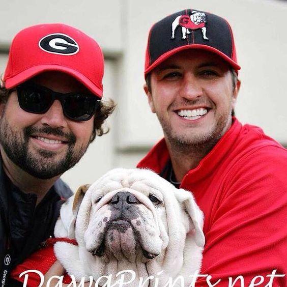 Georgia Bulldogs and Luke Bryan