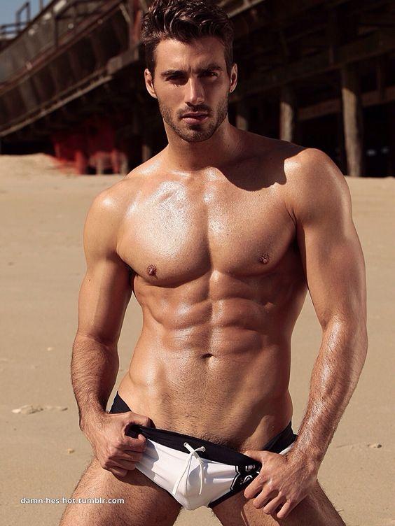 damn, he's hot!