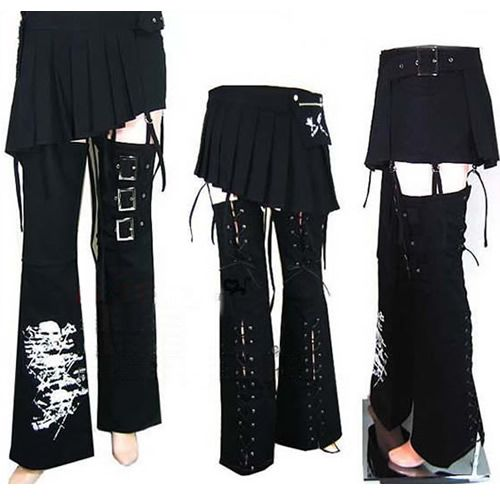 Gothic Punk Clothing | Unique Trendy Punk Gothic Clothing Skirts Pants Shorts Mens Womens SKU ...: