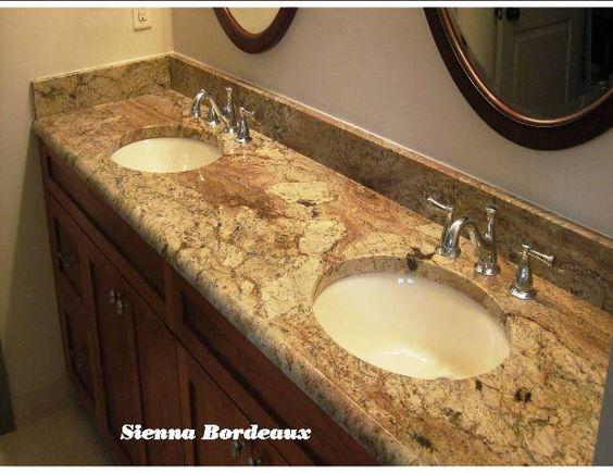 Bathroom remodel ocala fl - Bordeaux Granite And Vanities On Pinterest