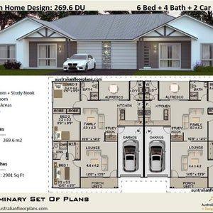 393 0 M2 Or 4230 Ft2 8 Bed Duplex Design Modern Duplex Plans Concept Duplex Plans For Sale Australian Duplex Duplex Design In 2021 Duplex Design Duplex Floor Plans Duplex Plans