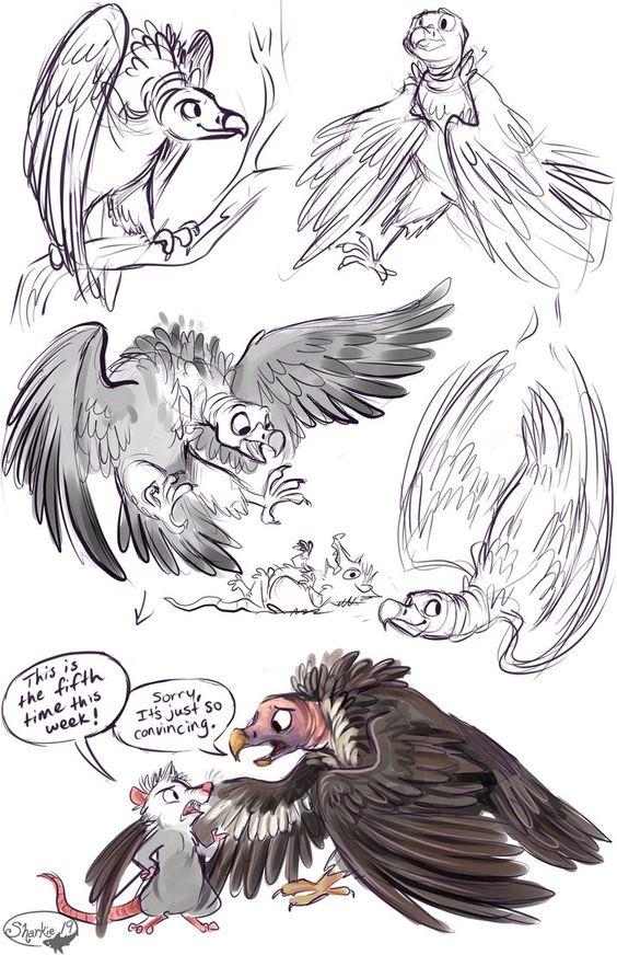 Vultures by sharkie19 on DeviantArt