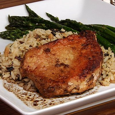 braised pork chops quick braised pork chop balsamic glazed pork chops ...