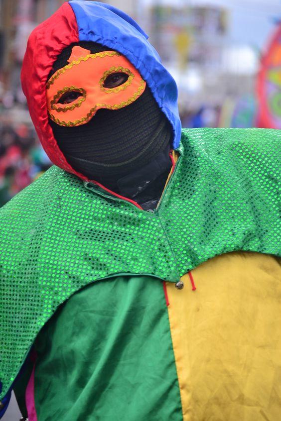 """""""Carnaval multicolor de la frontera"""" Ipiales, Nariño, Colombia. 3 de enero de 2015. Tomada por. Gustavo Montenegro Cardona."""