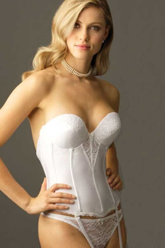Strapless Low Back Bustier 6363 The Bride Pinterest