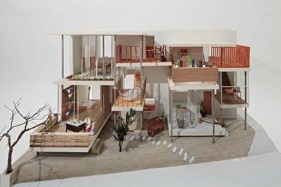 สำหร บใครท กำล งป นโปรเจคในช วงทำ Model Architectureแล วค ดไม ออกว าจะใช เทคน คในการต ดโมฯแบบไ Architecture Design Space Architecture House Design