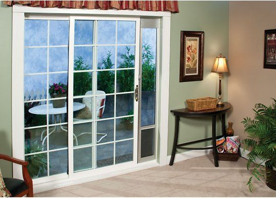 Buy Petsafe Freedom Patio Pet Doors For Sliding Doors 96 In Large Tall At Chewy Com Free Shipping An Pet Patio Door Patio Panel Pet Door Dog Door