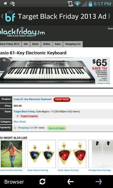 Keyboard at target black friday