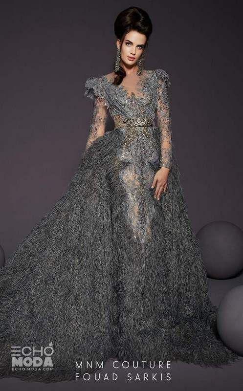 Pin By Echo Moda On ازياء نسائيه 2021 Couture Evening Dress Mnm Couture Dresses