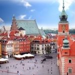 Cześć, Poland!! Country #1 on the list. #picturesque #square #EurailWinterWin