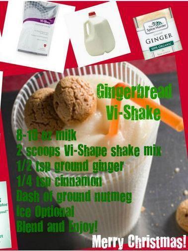 Gingerbread Vi Shake