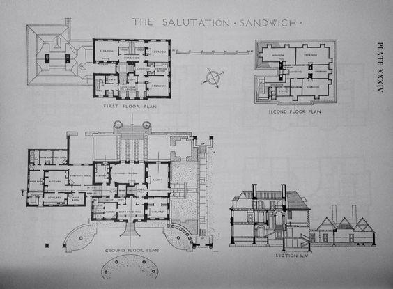 The salutation sandwich kent england edwin lutyens for 1009 fifth avenue floor plan