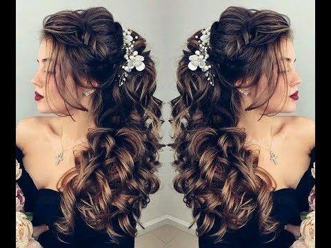 Amazing Bridal Hairstyles احدث تسريحات للعرايس 2018 تسريحات راقيه للزفاف والحفلات In 2021 Hair Styles Long Hair Styles Beauty