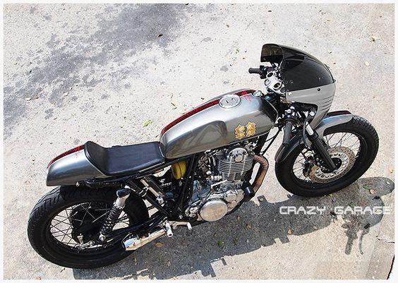 "Yamaha SR ""Street Cafè"" by Crazy Garage"