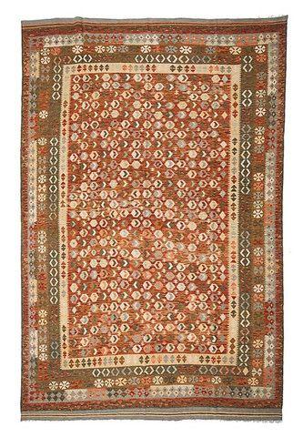 kilim - Kilim Afegão 348x243 cm.