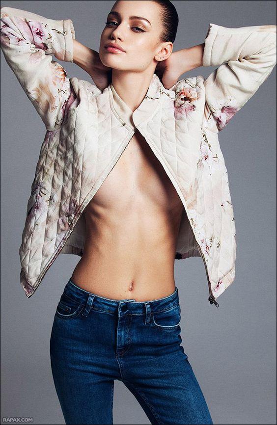 Resultado de imagem para new face female model fashion holland